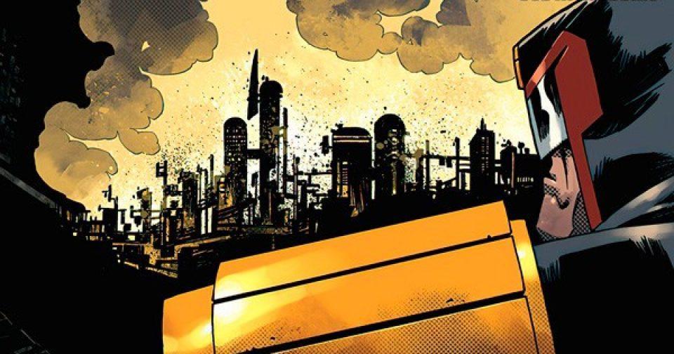 Обложка комикса судья дредд 012 (IDW)