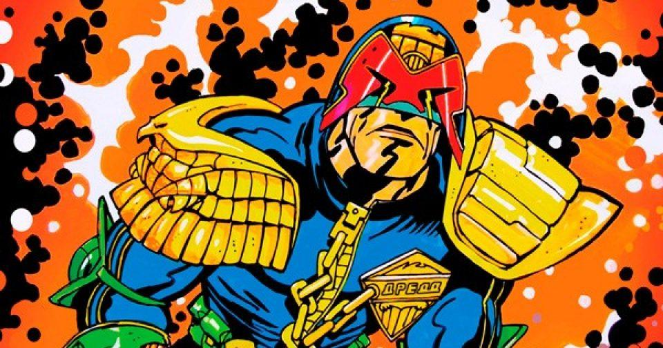Обложка комикса судья дредд 013 (IDW)