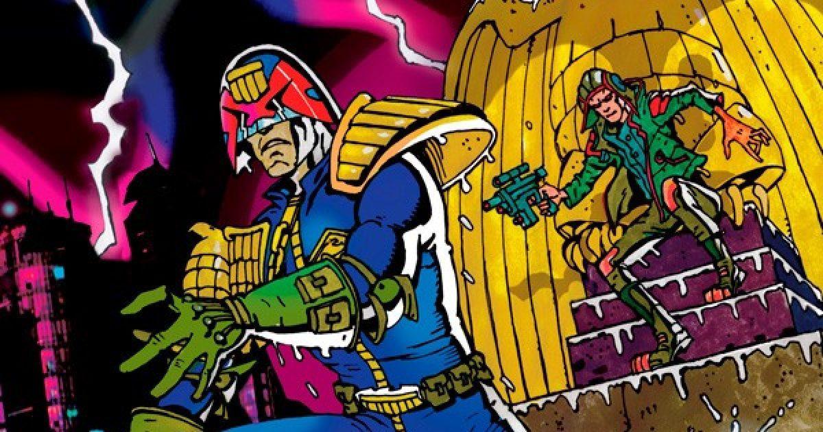 Оригинальная обложка комикса судья дредд 014 (IDW)
