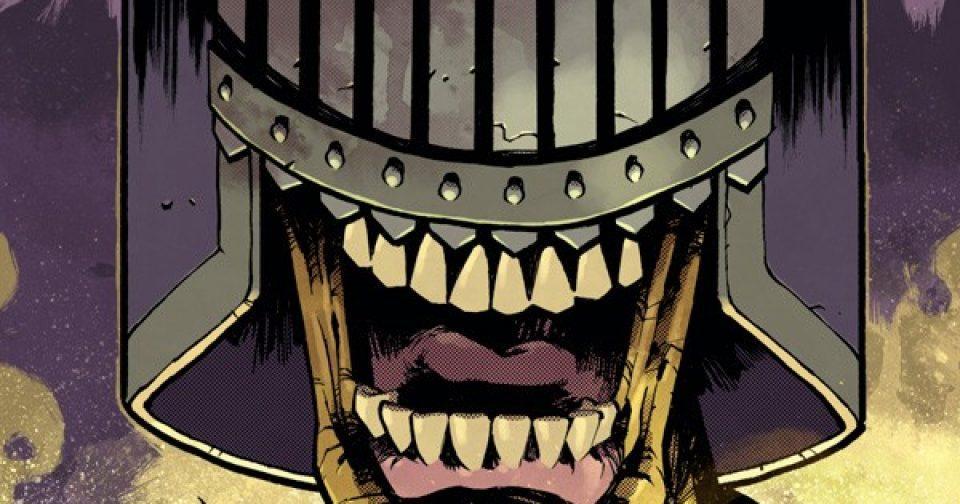 Оригинальная обложка комикса судья дредд 017 (IDW)