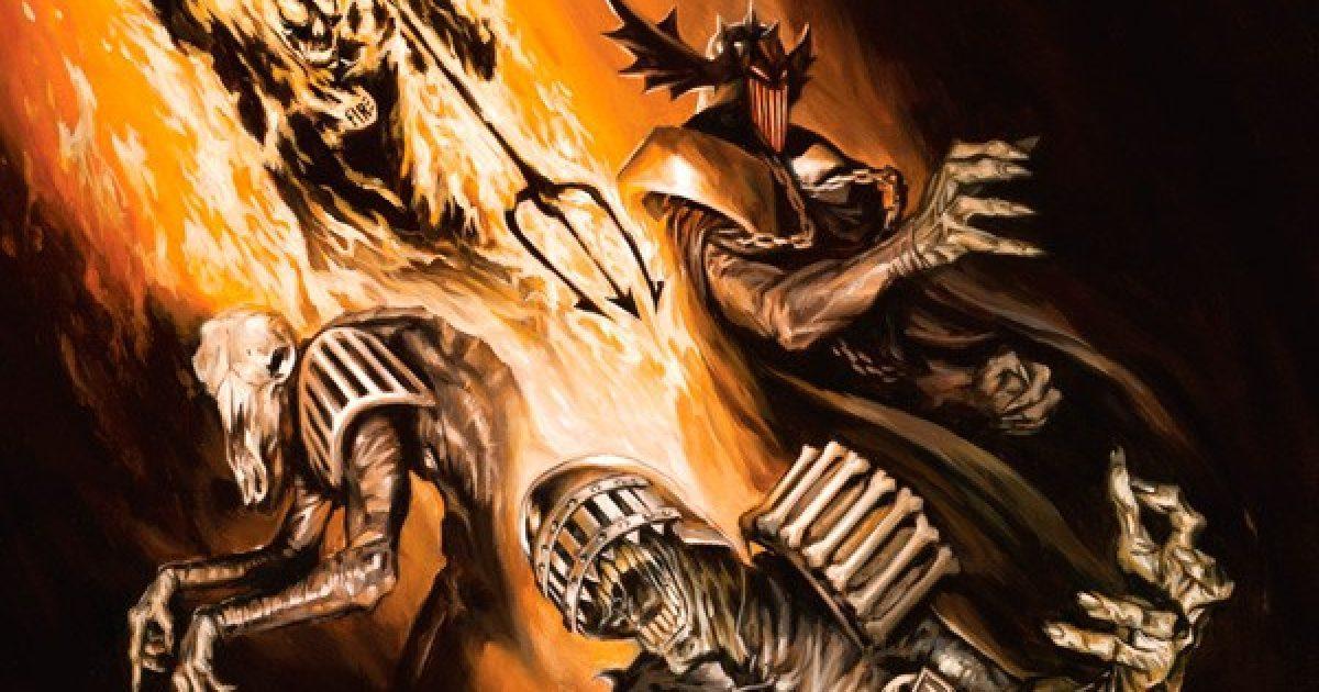Оригинальная обложка комикса судья дредд 020 (IDW)