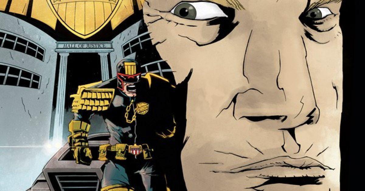 Оригинальная обложка комикса судья дредд 027 (IDW)