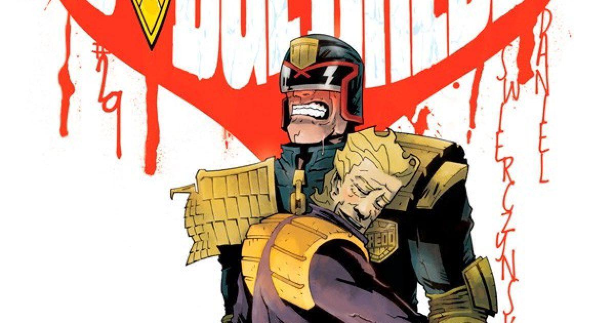 Оригинальная обложка комикса судья дредд 029 (IDW)