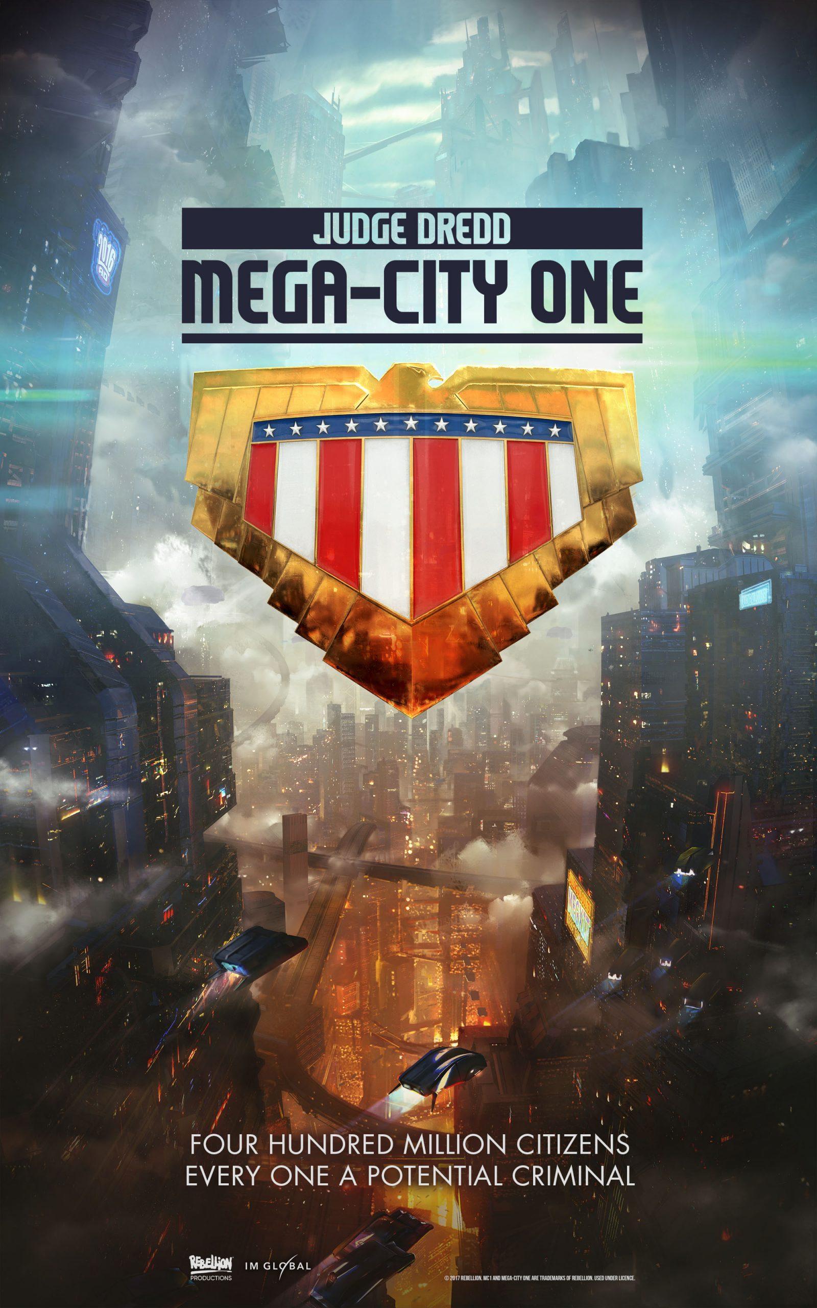 Постер сериала «Судья Дредд: Мега-Сити‑1»