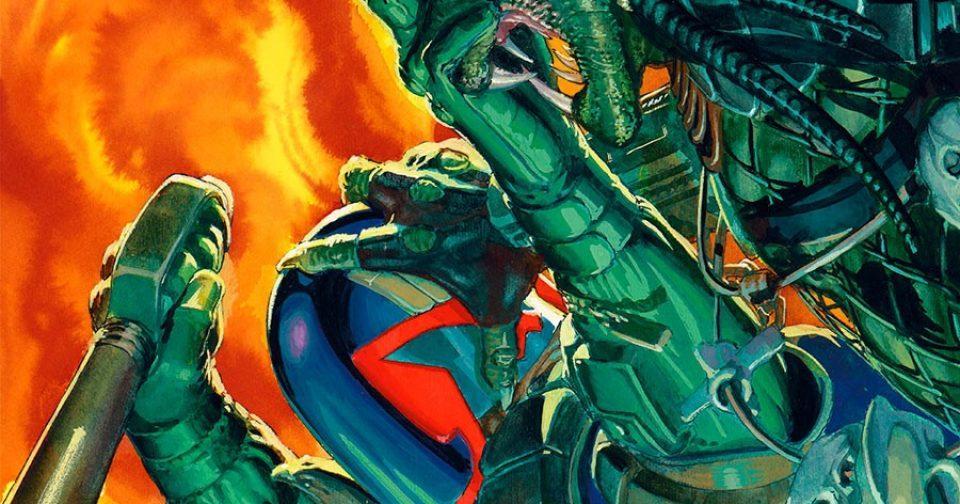 Хищник против судьи Дредда № 03 — обложка комикса