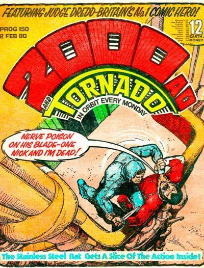 Обложка журнала 2000 ad #0150