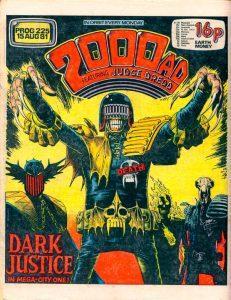 Обложка журнала 2000 ad #0225