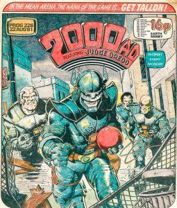 Обложка журнала 2000 ad #0226