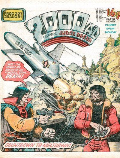 Обложка журнала 2000 ad #0227