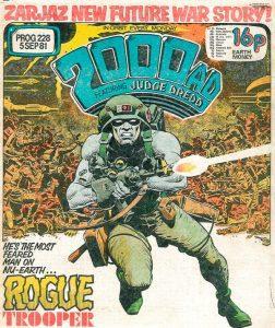 Обложка журнала 2000 ad #0228