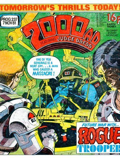 Обложка журнала 2000 ad #0237