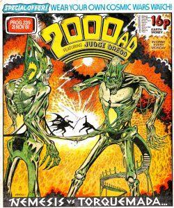 Обложка журнала 2000 ad #0239