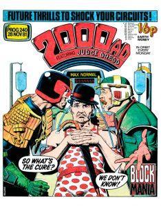 Обложка журнала 2000 ad #0240