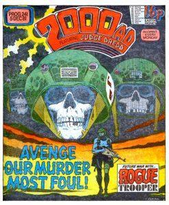 Обложка журнала 2000 ad #0241