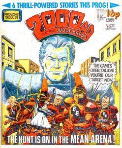Обложка журнала 2000 ad #0243