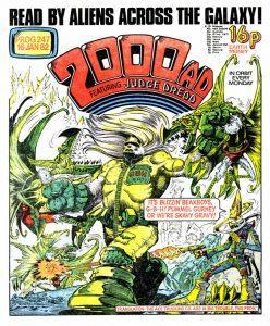 Обложка журнала 2000 ad #0247