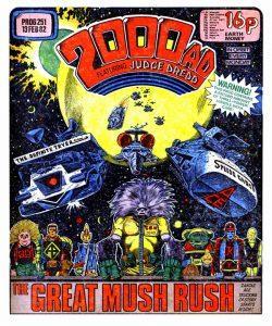 Обложка журнала 2000 ad #0251