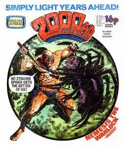 Обложка журнала 2000 ad #0252