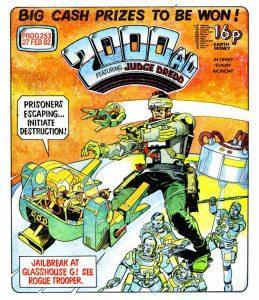 Обложка журнала 2000 ad #0253