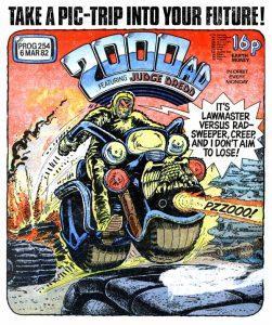 Обложка журнала 2000 ad #0254