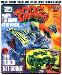 Обложка журнала 2000 ad #0258
