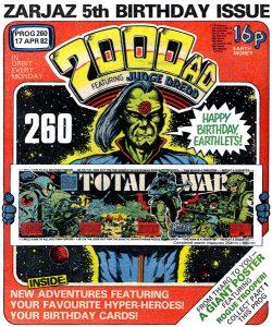 Обложка журнала 2000 ad #0260