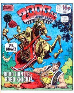 Обложка журнала 2000 ad #0264