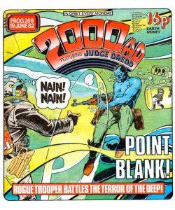 Обложка журнала 2000 ad #0269