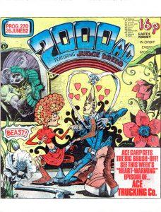 Обложка журнала 2000 ad #0270