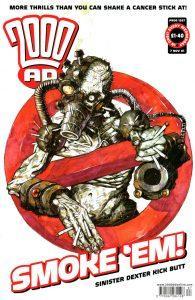 Обложка журнала 2000 ad #1267
