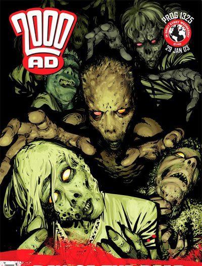 Обложка журнала 2000 ad 1325