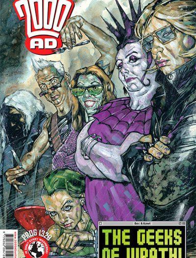 Обложка журнала 2000 ad #1329