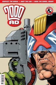 Обложка журнала 2000 ad #1333