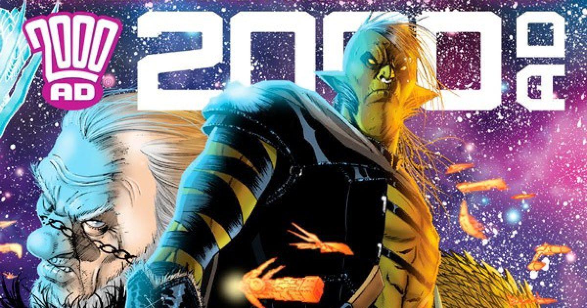 Обложка журнала 2000 ad #2123