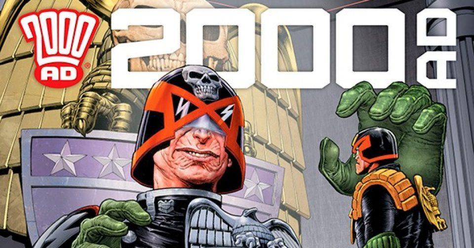 Обложка журнала 2000 ad #2141