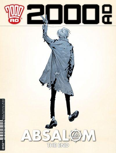 Обложка журнала 2000 ad #2143
