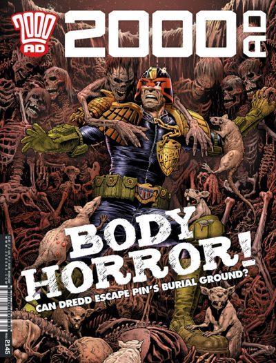 Обложка журнала 2000 ad #2145