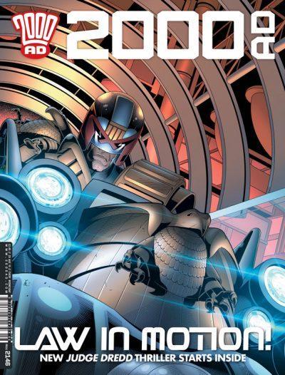 Обложка журнала 2000 ad #2146