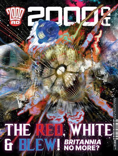 Обложка журнала 2000 ad #2160