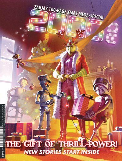 Обложка журнала 2000 ad #2162