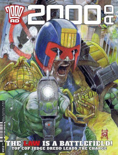 Обложка журнала 2000 ad #2164