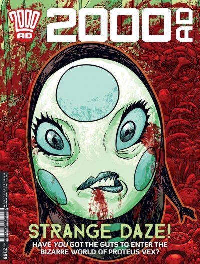 Обложка журнала 2000 ad #2165