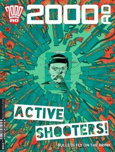 Обложка журнала 2000 ad #2166
