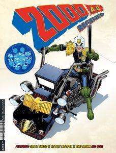 Обложка журнала 2000 ad #2170