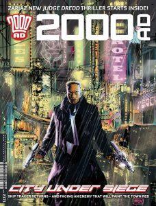 Обложка журнала 2000 ad #2171