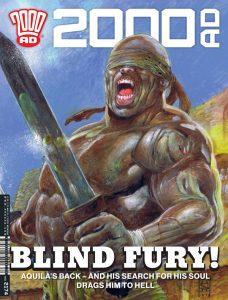 Обложка журнала 2000 ad #2174