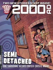 Обложка журнала 2000 ad #2175