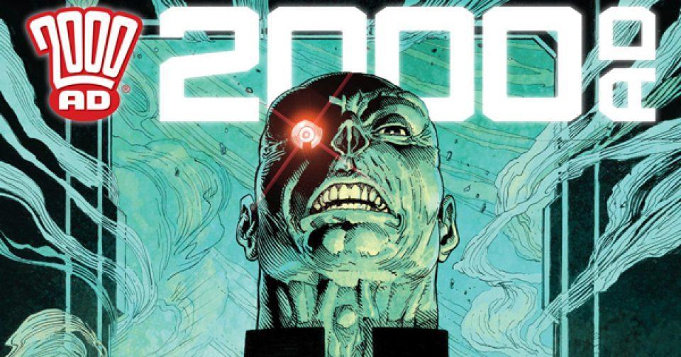 Обложка журнала 2000 ad #2177
