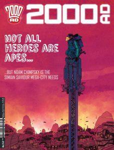 Обложка журнала 2000 ad #2178