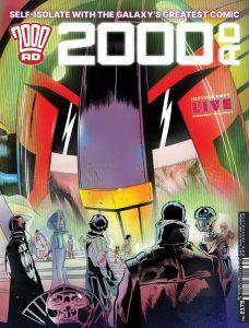 Обложка журнала 2000 ad #2179